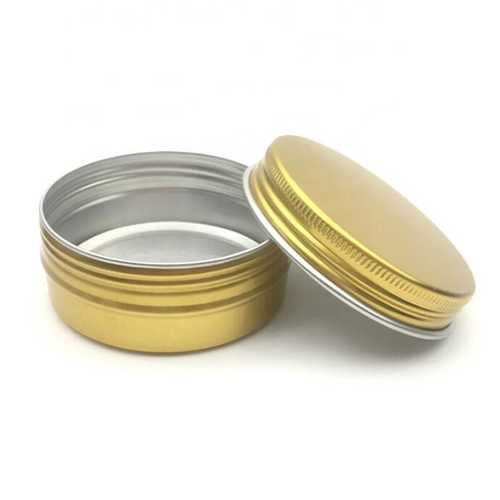 20ml round colour 39*39*20mm Aluminium cosmetic jars