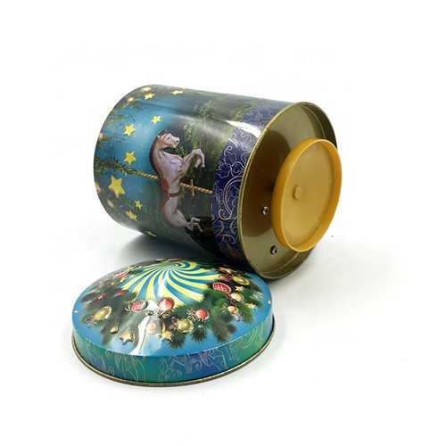 Jewelry Music Tin Box