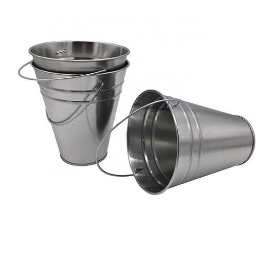 Small Metal Ice Bucket